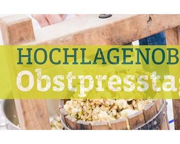 Termintipp: Obstpresstage in Neubruck und Wienerbruck