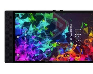 Razer Phone 2: Neue Bilder zeigen die Vorderseite des Gaming-Smartphones