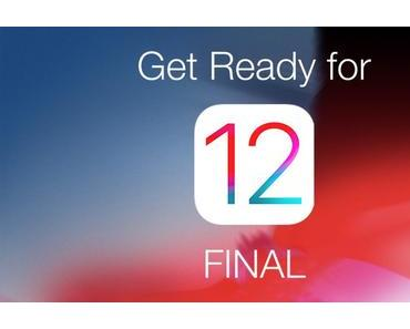 iOS 12 ist erschienen