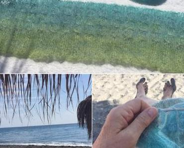 Knitting on the beach – oder – Urlaubsstrickereien für den Winter