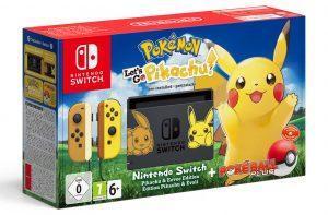 Nintendo Switch Spezialausgabe Pokémon geplant