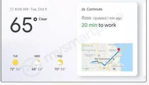 Google Home Hub: smarte Lautsprecher Display kommt