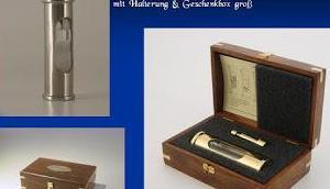 Wieder lieferbar Dänisches Sturmglas repräsentativer Presentbox
