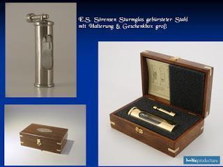 Wieder lieferbar - Dänisches Sturmglas in repräsentativer Presentbox