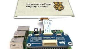 Waveshare Three Color E-Paper Display Raspberry anschließen eink driver