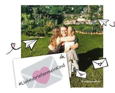 Blogparade zum Weltkindertag #Liebesbriefanmeinkind