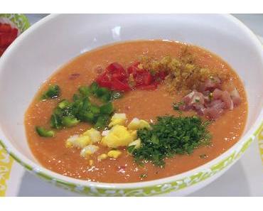 Salmorejo (Kalte spanische Tomatensuppe)