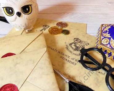 Es flogen Briefe von Hogwarts an meine Bloggerinnen #HarryPotter #DIY #Einladung