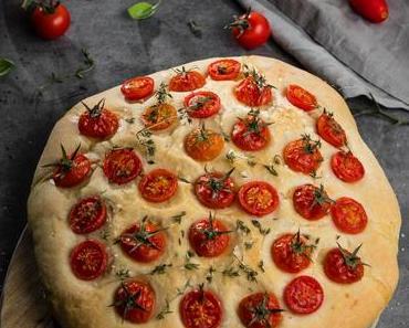 Tomaten-Thymian-Focaccia