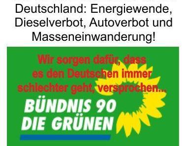 Warnung vor den Grünen