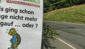 Frankenwald Wandermarathon tolle Landschaft meets Herzlichkeit