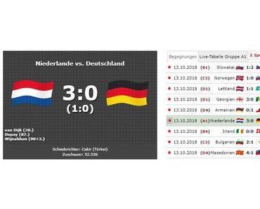 Nations League: Holland schlägt Deutschland 3:0