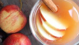 Warmer Apfelpunsch ganze Familie