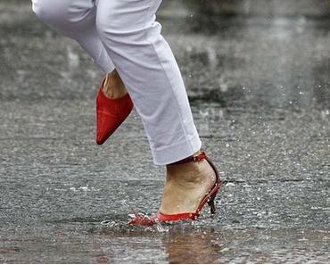 Erneut heftiger Regen angekündigt