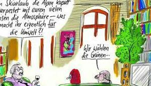 Hessenwahl Grüne Niveau Streicher's Stürmer