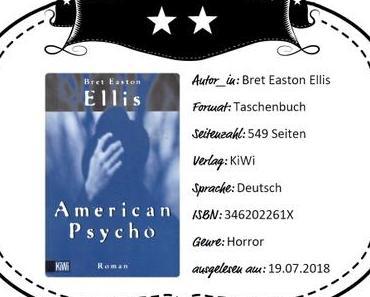 Bret Easton Ellis – American Psycho
