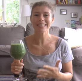 Grüner-Smoothie Rezept (zum Frühstück) – Schnell, gesund und lecker!!