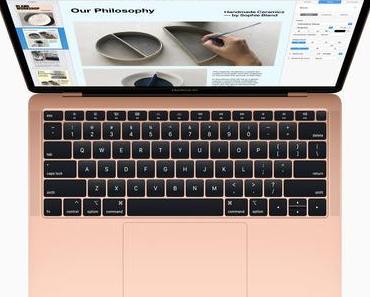 Apple präsentiert MacBook Air mit 13-Zoll Retina-Display und Touch ID