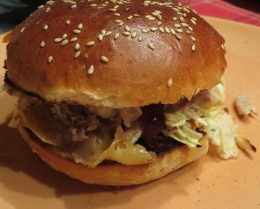 Pulled Chicken-Burger