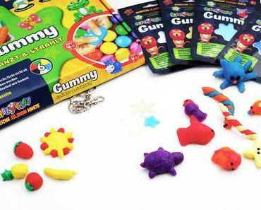 Die CrazyClay Gummy Knete als Fimo Alternative: Kühlschrankmagnete und Mobiles basteln