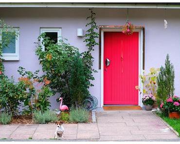 Little Greene München - Meine pinkene Haustür