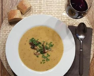 Kartoffelsuppe mit Champignons - ist lecker und wärmt