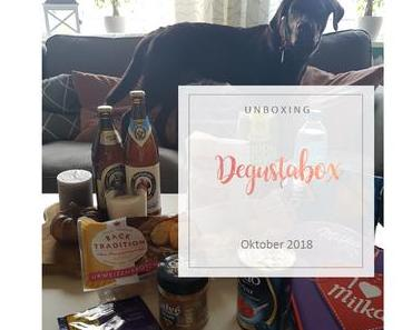 Degustabox - Oktober 2018 - unboxing