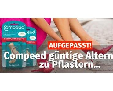 AUFGEPASST ᐅ Compeed günstige Alternative zu den Pflastern…