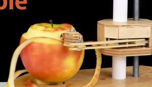 Elektrischer Obst- Gemüseschäler selber bauen