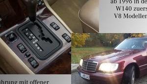 Mercedes Gang Automatikgetriebe 722.6