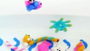 lustiges Magnet-Angelspiel (für Badewanne) selber machen