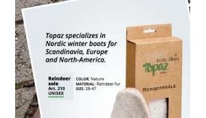Warme Rentier Fell Einlegesohlen jetzt Balticproducts.eu kaufen