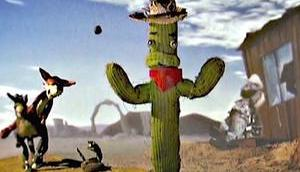 Stop-Motion Western: Five Cactus