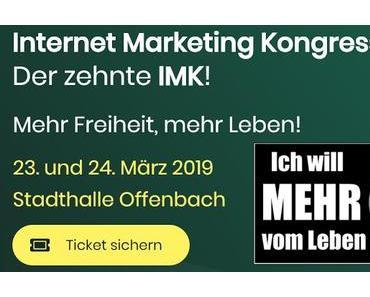 IMK 2019 - Der Jubiläumskongress