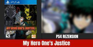 Review: Hero One's Justice Playstation
