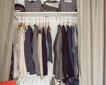 Meine neue flexible Aufbewahrung für Kleider & Co. praktisch und schön geplant! Mit vielen Tipps für euch