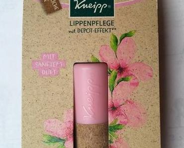 [Werbung] Kneipp Lippenpflege Hautzart