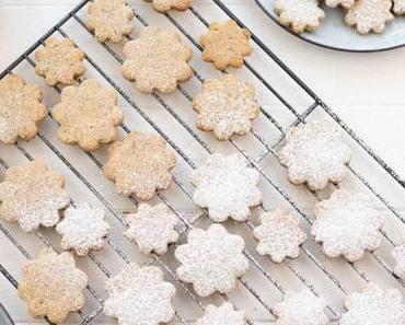 Dinkel-Mandel-Kekse mit Zitrone (einfaches Plätzchen-Rezept)