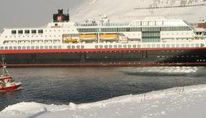 Hurtigruten stellt Kreuzfahrtschiffe Flüssig-Biogas (LBG) Antrieb
