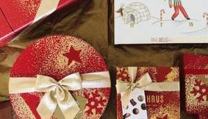 NEUHAUS Weihnachtssortiment 2018 beste belgische Pralinen Festzeit verpackt Form hochwertiger abwechslungsreichen Box-Kreationen