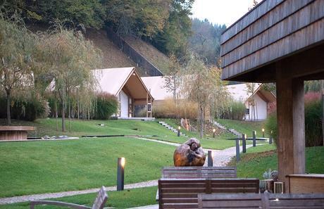 Charming Slovenia Herbal Glamping Resort in Ljubno