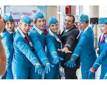 Einheitlicher Look: Eurowings Kabinenpersonal hebt in 'Sky Blue' ab
