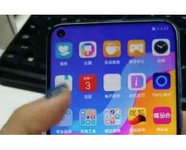 """Huawei Nova 4: Das Smartphone mit """"Guckloch"""" zeigt sich in voller Pracht"""