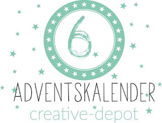 Adventskalender Tür Nr. 6 Creative-Depot