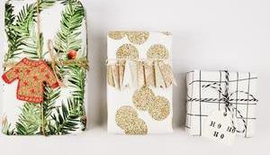Weihnachtsgeschenke verpacken: kreative Ideen JUNIQE