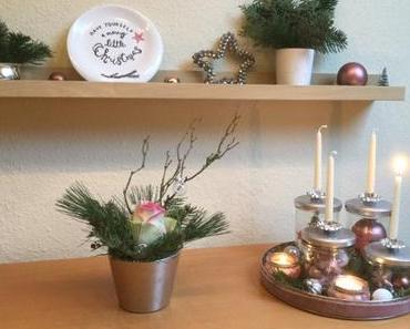 Friday-Flowerday – oder – Eine weihnachtliche Rose