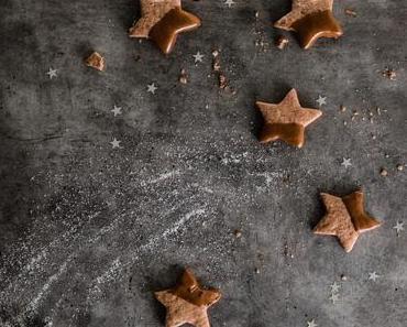 Schoko-Nugat-Sterne