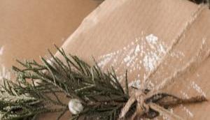 Weihnachtsverpackung, meine Weihnachtsgeschenke einpacke