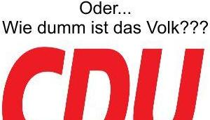 CDU/CSU träumt wieder über Prozent Verschwinden