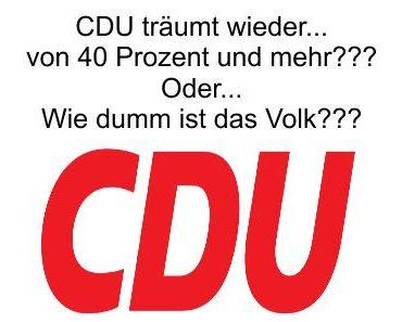 Die CDU/CSU träumt wieder von über 40 Prozent und dem Verschwinden der AfD